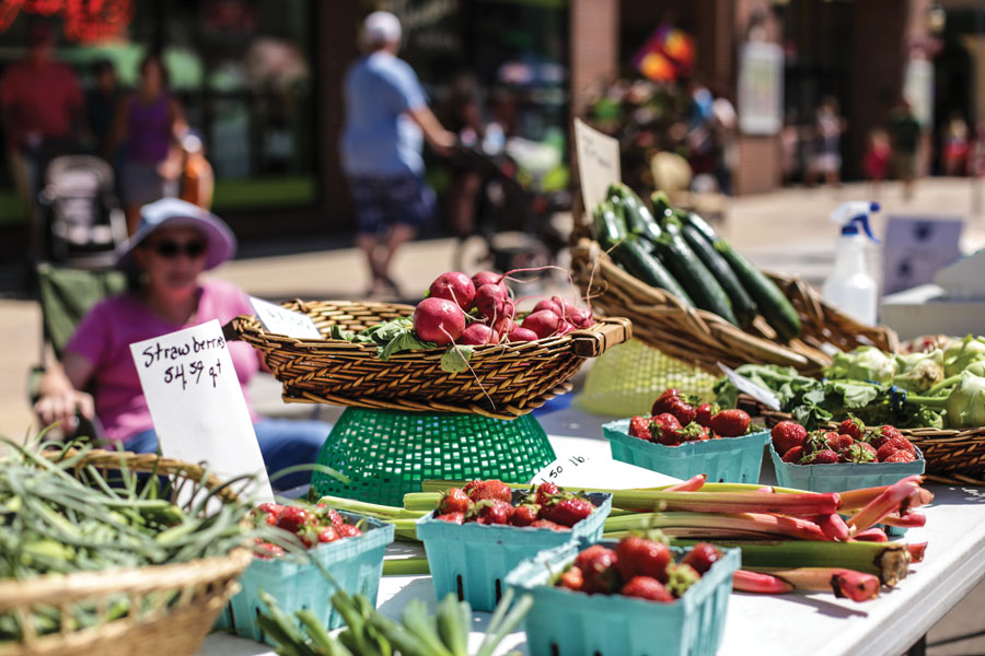 SCENE – Farmers Markets – August 2020