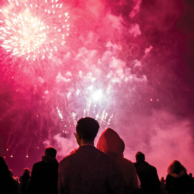 Today – Fireworks – July 2021