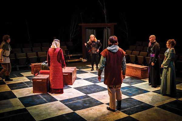 Scene – Attic Chamber Theatre – April 2021